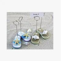 Buy cheap New creative promotion gift product wedding gift resin Beach shoes business card holder from wholesalers