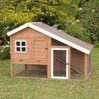 Buy cheap Large wooden chicken coop with long run from wholesalers