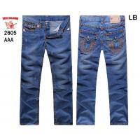 Buy cheap True Religion New Style Men's Blue Wash Straight Jeans 2605 from wholesalers