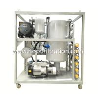 Buy cheap FR3 Vegetable Transformer Oil Filtration Plant, Silicon Oil Purifier, Processing  FR3 fire-resistant green dielectric from wholesalers