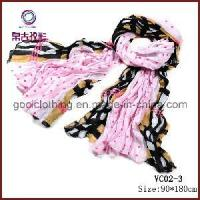Buy cheap New Fashion Printed Voile Lady Floral Scarf (VC02-3) from wholesalers