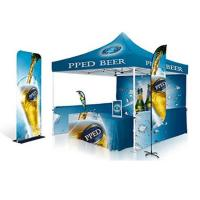 Buy cheap 2X2 Pop Up Gazebo Tent Printed Marquee 600D Oxford Fabric Graphic Material from wholesalers