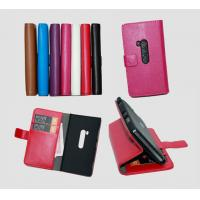 Buy cheap Nk lumia 920 luxury wallet purse leather case cover piel capa funda hulle coque Custodia from wholesalers