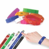 Buy cheap USB Flash Wristband from wholesalers