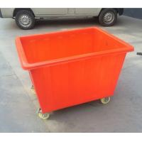 Buy cheap 400L Rectangular Poly Box Truck carts from Wholesalers