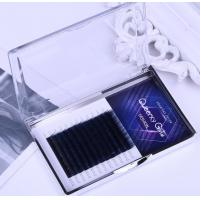 Buy cheap Natural Multi Colored Eyelash Extensions Synthetic Hair Eyelashes 12 Lines / Tray from wholesalers