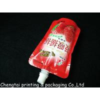 Buy cheap Moisture Proof 200 Ml & 250 Ml Liquid Spout Bags In Instant Drink Food Packaging from wholesalers