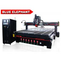 Buy cheap Blue Elephant 2040 Auto Tool Changer CNC Oscillating Knife Spindle Sander Tool Blade Roll Paper Cutting Machine from wholesalers