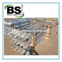 Buy cheap Square Bar or Round Tubular Helical Screw Piles from wholesalers