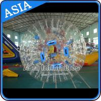 Buy cheap 1.0mm PVC Transparent Used Inflatable Water Zorb For Water Pool from wholesalers