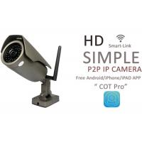 Buy cheap H.264 Waterproof Bullet HD IP Cameras Outdoor With Dual IR CUT Filter from wholesalers