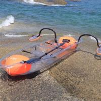 Buy cheap Ocean / River See Through Kayak 1.2mm PVC Tube Material Water Float Submerged from wholesalers
