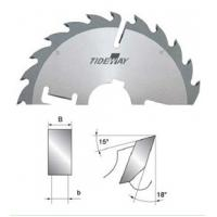 Buy cheap Multi TCT circular saw blades with carbide wipers, finished cutting surface from wholesalers