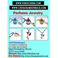 Buy cheap Murano Glass Essential Oil Bottle Pendant Necklace from wholesalers