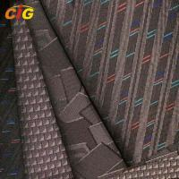 Buy cheap Woven Automotive Upholstery Fabric For Car Seat / Bus Seat / Sofa / Furniture product