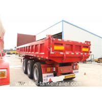 Buy cheap Tri-axles dump semi trailer / tipper truck trailer for sand & gravel or other cargos transporting from wholesalers
