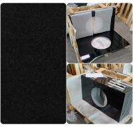 Buy cheap Black Natural Granite Countertops , High Density Solid Black Granite Countertops from wholesalers