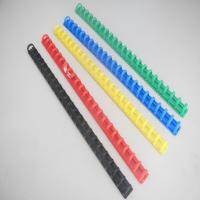 Buy cheap stationery Plastic slide file bind clips from wholesalers