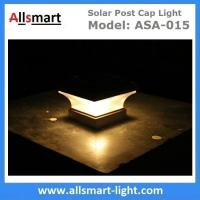 Buy cheap Smart Solar Warm White LED Solar Mission Lantern Illuminated In The Top and One Amber LED in the Pillar Candle from wholesalers