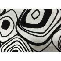 Buy cheap White Polyester Flocked Sofa Upholstery Fabric Flocking Fabric from wholesalers