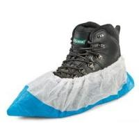 Buy cheap PP+CPE Disposable Shoe Covers Home Depot , Industry Footwear Covers Disposable from wholesalers