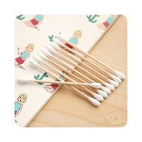 Buy cheap Lightweight Medical Cotton Swabs Wooden Stick Convenient Anti Bacterial product