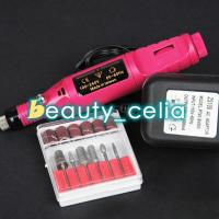 Buy cheap Electric Acrylic Nail Art File Mini Drill Set Manicure Pedicure Machine 6 Bits from wholesalers