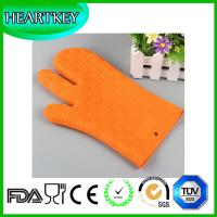 Buy cheap Silicone Non Slip Silicone and Cotton Oven Mitt Insulated Silicone Glove Use For Oven Microwave Oven And Grill from wholesalers