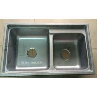Buy cheap China Factory Suppy simple kitchen designs Stainless Steel  Sink WY-8043D from wholesalers