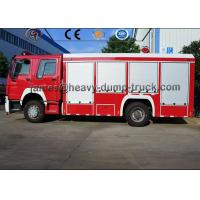 Buy cheap 12000L 8000L Howo brand New 4X2 6X4 Fire Fighting Water and Foam Fire Truck from wholesalers