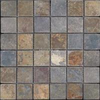 Buy cheap slate natural stone mosaic stone tile backsplash from wholesalers