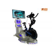 Buy cheap 9D VR Exercise Bike Wireless VR Connection Safety Resistance Adjustment from wholesalers