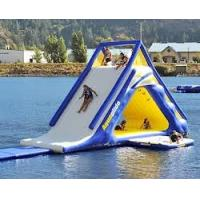 Buy cheap ODM giant little tikes inflatable water slides with durable 0.9MM PVC tarpaulin material from wholesalers
