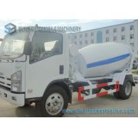 Buy cheap Isuzu 4CBM Concrete Truck Mixer With Interpump Hydraulic Pump And Motor from wholesalers