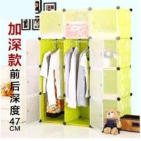 Buy cheap 12 doors deep green daisy clothes wardrobes with hanging robs from wholesalers