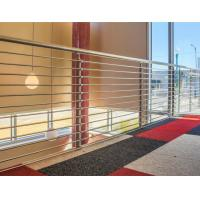 Buy cheap 316 Stainless Steel Guardrail System Solid Rod Bar Railing Balustrade product