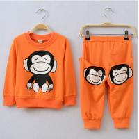 Buy cheap Children clothing Kids boys long-sleeved suit three-piece Autumn fashion personality kids set from wholesalers