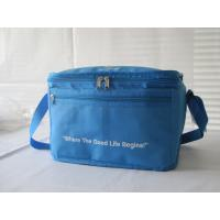 Buy cheap 24 Can Cooler Bag For Promotion Polyester Bule Cooler Bag-HAC13145 product