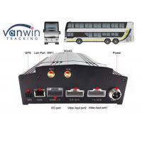 Buy cheap 8 channel car security dvr recorder Built-In 3G / 4G / WIFI / G-Sensor DVR System for Bus from wholesalers