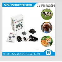 Buy cheap Mini pet gps tracker, gps tracker for cat, dog, animal manufacture from wholesalers