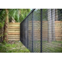 Buy cheap Basketball net mesh fabric soccer field sports galvanized chain link fence 36 inch from wholesalers