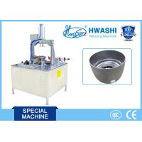 Buy cheap Electric Rice Cooker Pot Three Points Automatic Welding Machine CE / CCC / ISO from wholesalers