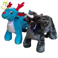 Buy cheap Hansel shoping mall walking animal zoo ride for mall electronic game machine from wholesalers