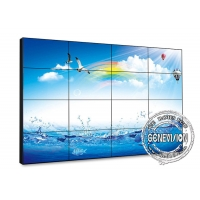 Buy cheap 55 3X3 BOE Original Panel 0.88mm Narrow Bezel LCD Digital Signage Video Wall in 500nits from wholesalers