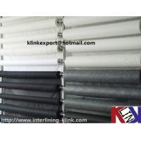 Buy cheap Nonwoven PA Coated Nonwoven interlining thermal bonded for garment from wholesalers
