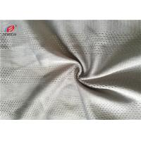 Buy cheap Dry Fit Rad Color 100% Polyester Mesh Fabric Knitted For Sportswear / Chaircover from wholesalers