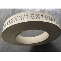 Buy cheap High Hardness Molded Brake Lining Roll , Synthetic Rubber Windlass Brake Lining from wholesalers