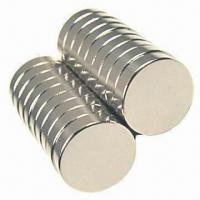 Buy cheap Block-shaped Permanent Magnet in Various Types, Made of NdFeB with Nickel Coating from wholesalers