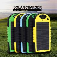 Buy cheap Waterproof Portable Solar Panel Charger 5000mAh Retail Wholesale Hot sell from wholesalers