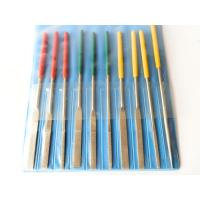 Buy cheap Custom Electroplated Diamond Needle File Set Sharpener For Gemstone / Ceramics from wholesalers